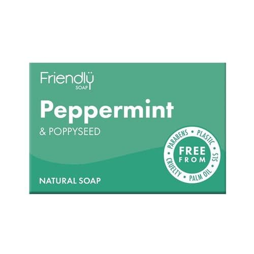 Friendly Soap Peppermint & Poppy Seed